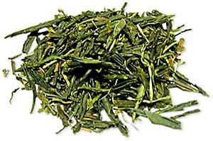 べにふうき茶の茶葉