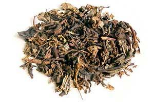 甜茶の茶葉